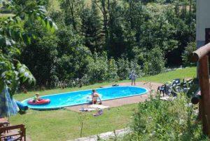 basen przy Domku